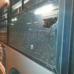 Vetture ATAC devastate dai tifosi del Feyenoord