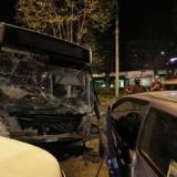 Roma, incidente sulla Gianicolense tra tram e autobus.
