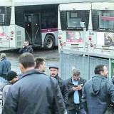 Roma il trasporto pubblico si ferma.