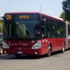 Roma: linea 20 express misure di sicurezza.