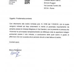 AMMINISTRATORE DELEGATO  ATAC RISPONDE A CAMBIA-MENTI M41O