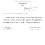 CONVOCAZIONE ASSEMBLEA SOCI ORDINARIA