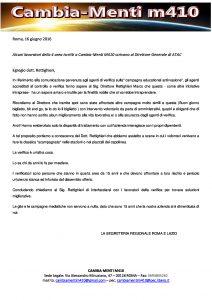 ATAC - CAMBIA-MENTI M410 - Verificatori Quarta Area: Dott. Rettighieri parliamone.