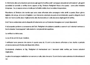 ATAC – CAMBIA-MENTI M410 – Verificatori Quarta Area: Dott. Rettighieri parliamone.