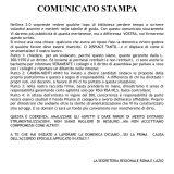 CAMBIA-MENTI M410 – COMUNICATO STAMPA IN RISPOSTA AL VOLANTINO ANONIMO
