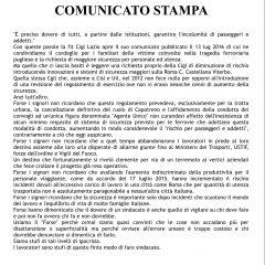 CAMBIA-MENTI M410 – Finalmente si parla di Sicurezza del Trasporto Pubblico…… Ma perché solo quando ci sono delle vittime innocenti?