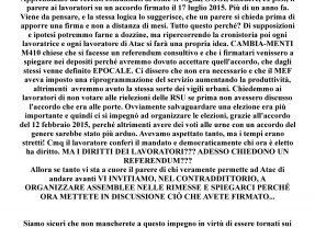 ATAC – CAMBIA-MENTI M410 – REFERENDUM ALL'ITALIANA … L'ACCORDO EPOCALE … UN ANNO DOPO…