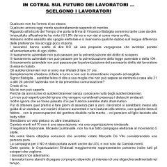 COTRAL – CAMBIA-MENTI M410 – In COTRAL sul futuro dei lavoratori… scelgono i LAVORATORI!