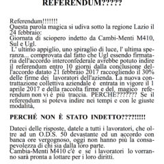 COTRAL – CAMBIA-MENTI M410 – Referendum: da speranza ad utopia.