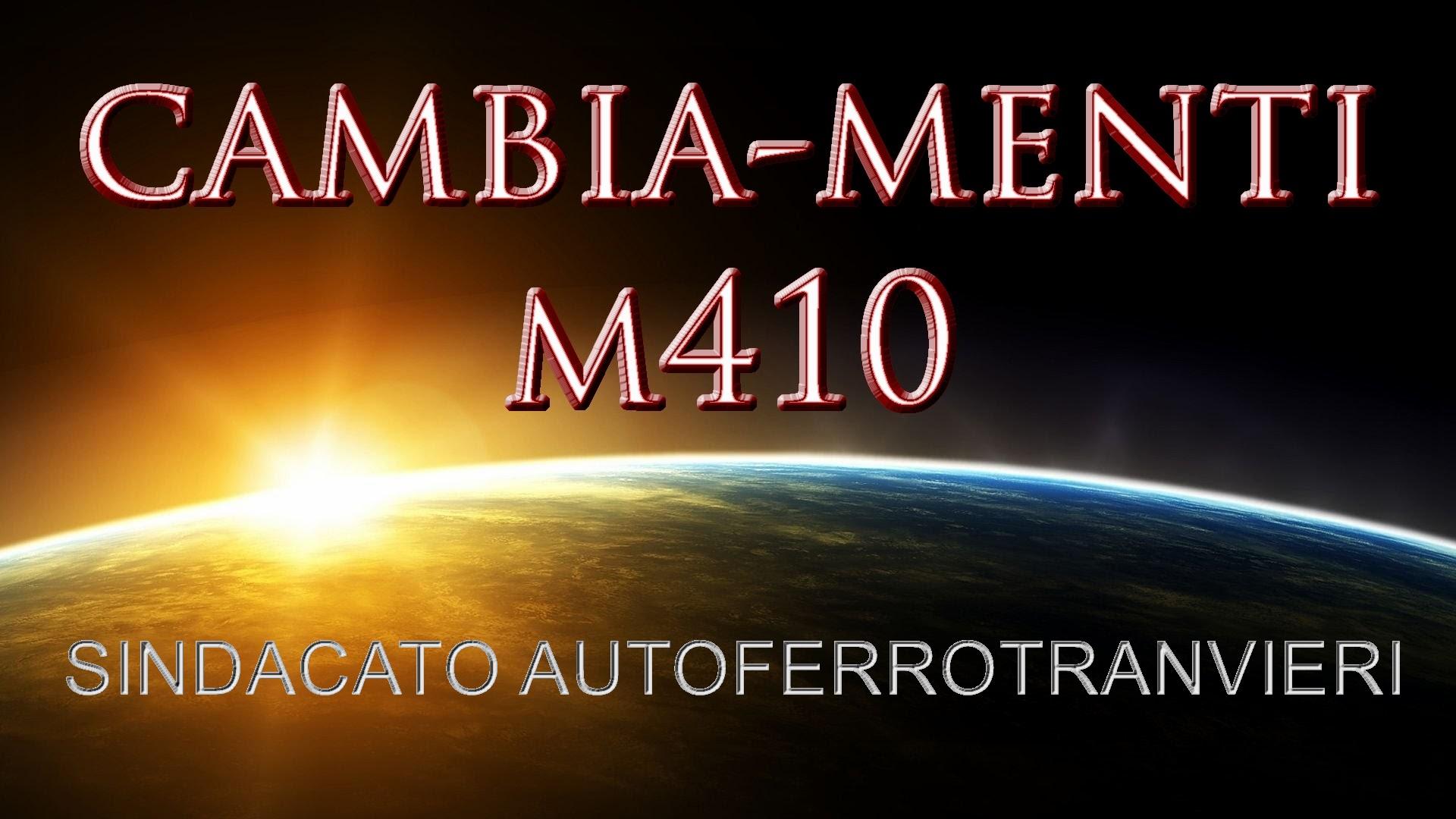 Cambiamenti M410